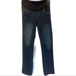 Pumpkin Patch full length maternity jeans size 10